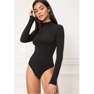 NWT COMMANDO Black Turtleneck Bodysuit | One Size